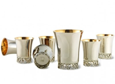 Cheshvan Kiddush Cup Set