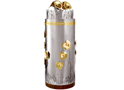 Sefaradic Flowers Design - Torah Case