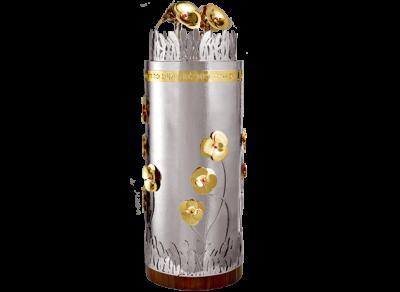 Sefaradic Flowers Design - Torah Case