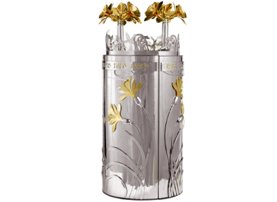 Sefaradic Orchid Design - Torah Case