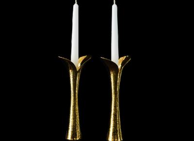The Tulip Candlesticks