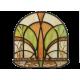 Patina Plated Vitrage Hanukiah