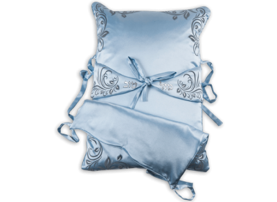"""Brit Pillow - """"May the angel who has delivered me.."""""""