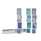 Habonim Mezuzah Ocean colors